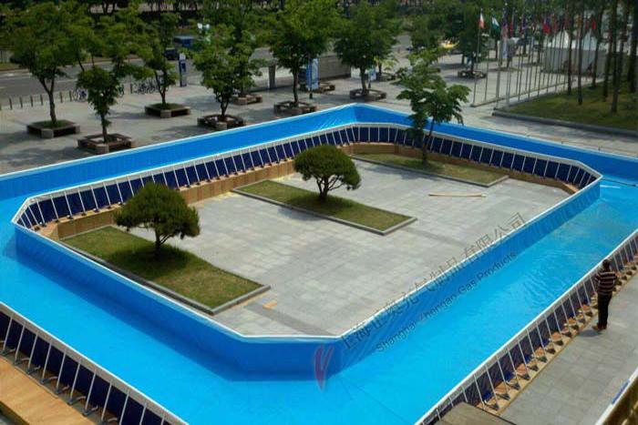 组合水池设计图